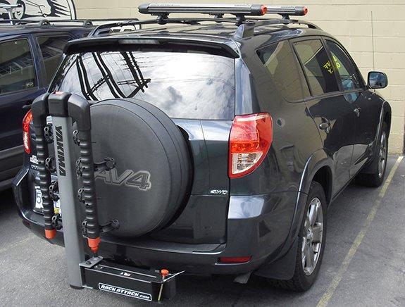 Snowboard Roof Rack >> Choosing the Best Bike Rack for Rav4
