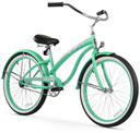 firmstrong bella classic mint green beach cruiser
