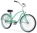 firmstrong chief lady beach cruiser mint green