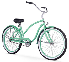 mint green firmstrong chief lady beach cruiser bicycle