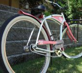 custom beach cruiser bicycle