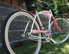 custom beach cruiser bicycle