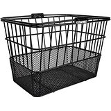 sunlite mesh cruiser bike basket